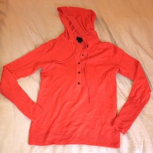 J. Crew Collection Italian Cashmere PulloverHoodie